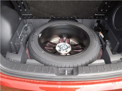 Mitsubishi Eclipse Cross 2018 запасное колесо