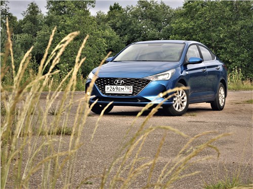 Hyundai Solaris 2020 вид спереди