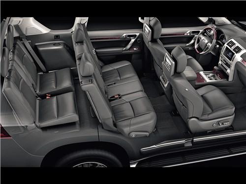 Lexus GX 2014 салон