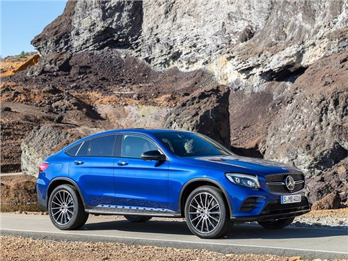 Новость про Mercedes-Benz GLC - Mercedes-Benz GLC Coupe 2017