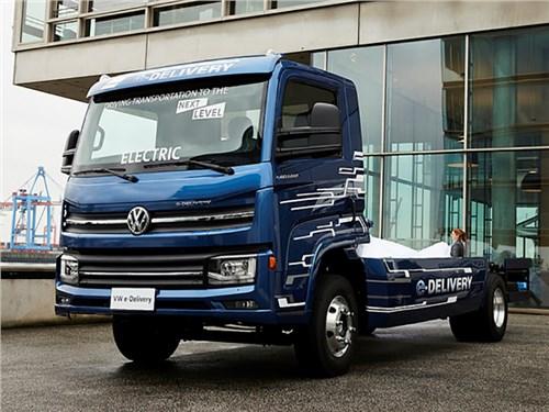Новость про Volkswagen - Volkswagen e-Delivery