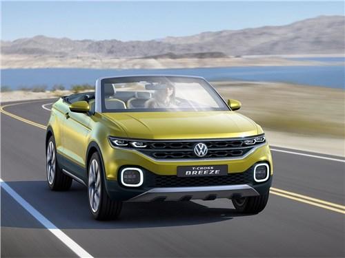 Предпросмотр volkswagen t-cross breeze concept 2016 вид спереди