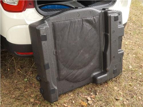 Предпросмотр ssangyong xlv 2017 багажное отделение