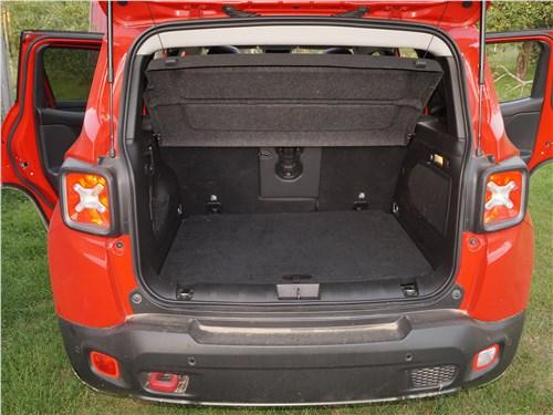 Jeep Renegade 2019 багажное отделение
