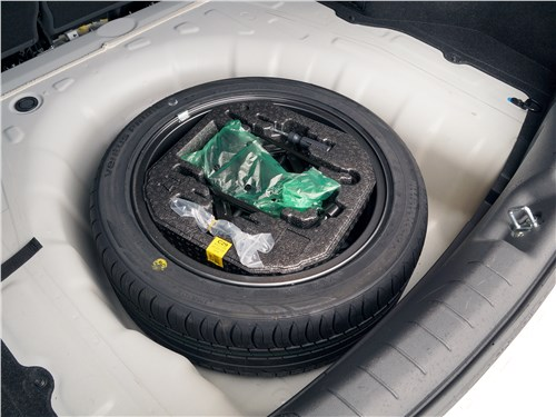 Hyundai Elantra 2019 запасное колесо