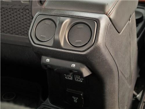 Jeep Wrangler (2018) дефлекторы