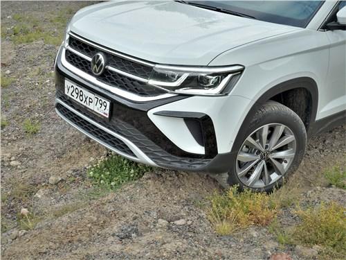 Предпросмотр volkswagen taos (2022) вид спереди