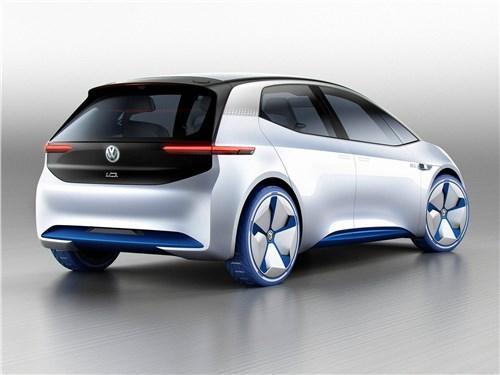 Предпросмотр volkswagen i.d. concept 2016 вид сзади