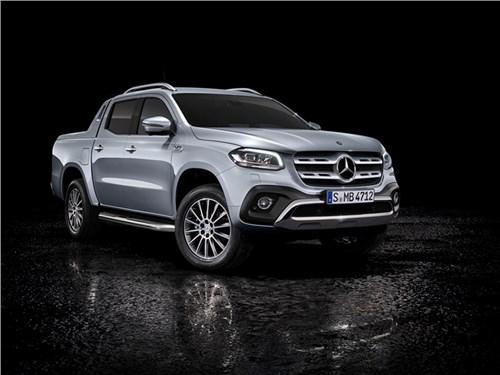 Пикап Mercedes-Benz X-класса получил «родной» турбодизель
