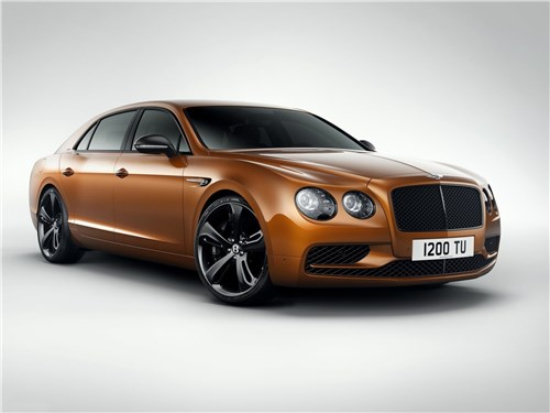 Новый Bentley Flying Spur - Bentley Flying Spur W12 S 2017 Скороход