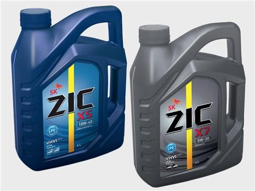 Масла для газовых двигателей ZIC X7 5W-30 LPG и ZIC X5 10W-40 LPG