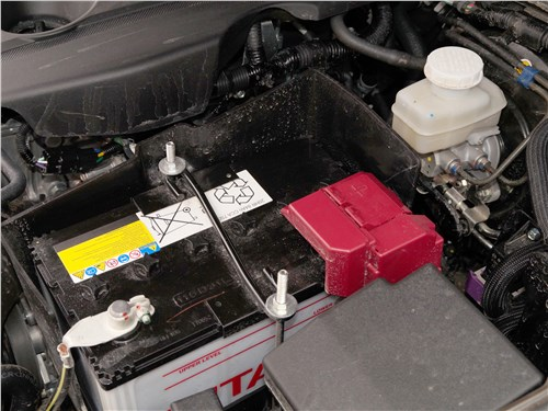 Fiat Fullback 2016 аккумулятор