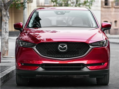 Без Трампа? Запросто! CX-5 - Mazda CX-5 2017 вид спереди