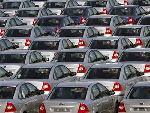 Российский рынок автомобилей 4-й в Европе