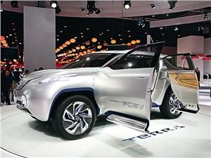 """Шоу-кар Terra – взгляд в """"водородное будущее"""" Nissan"""