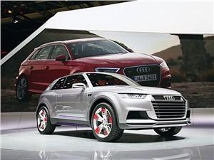 Концептуальный Audi Crosslane Coupe – гибрид внедорожника и купе