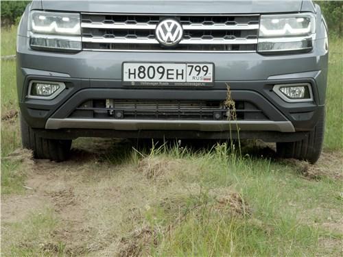 Предпросмотр volkswagen teramont 2018 вид спереди