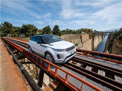 Land Rover Range Rover Evoque 2020 на испытаниях