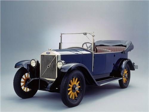 Первый автомобиль Volvo получил название Jakob