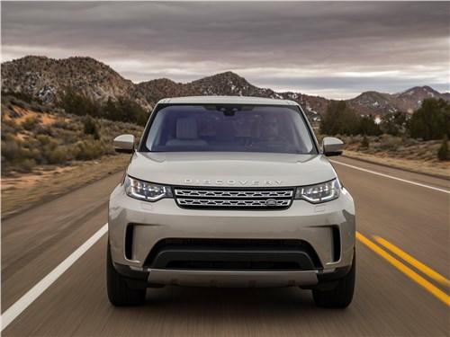 Land Rover Discovery 2017 вид спереди