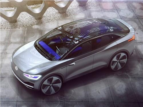 Предпросмотр volkswagen id crozz concept 2017 вид сверху