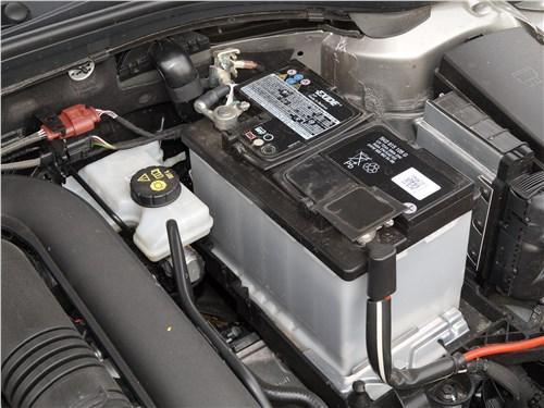 Skoda Octavia 2017 моторный отсек