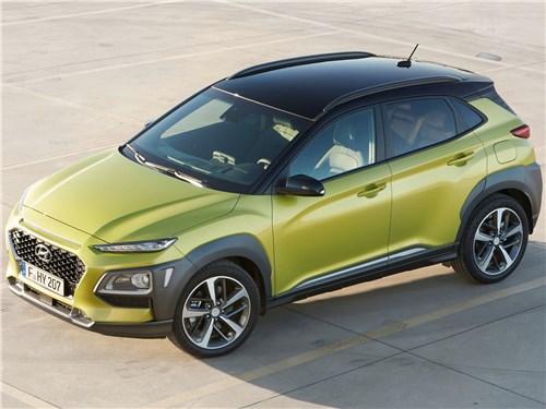 Hyundai Kona - Hyundai Kona 2018 вид сверху