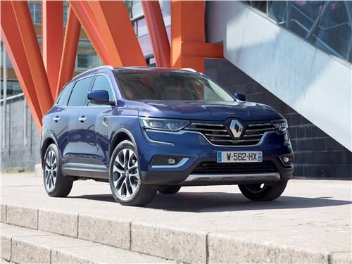 Renault Koleos 2017 вид спереди сбоку
