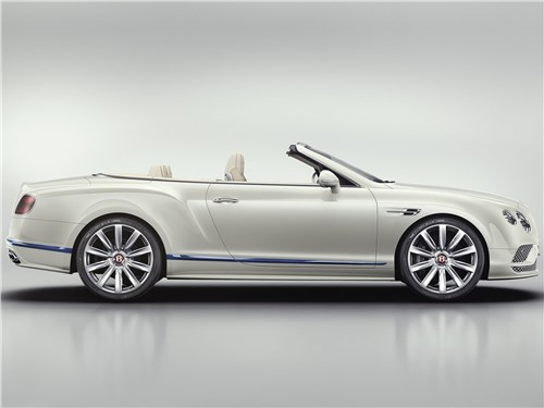 Bentley Continental GT Convertible Galene Edition 2017 вид сбоку