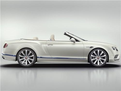 Летом лучше без крыши (Обзор российского рынка открытых автомобилей - 2007) Continental GTC - Bentley Continental GT Convertible Galene Edition 2017 вид сбоку
