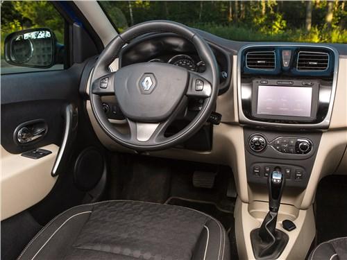 Renault Logan 2014 салон