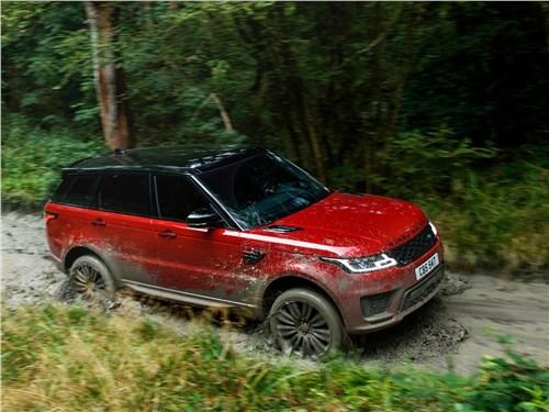 Предпросмотр land rover range rover sport 2017 вид спереди