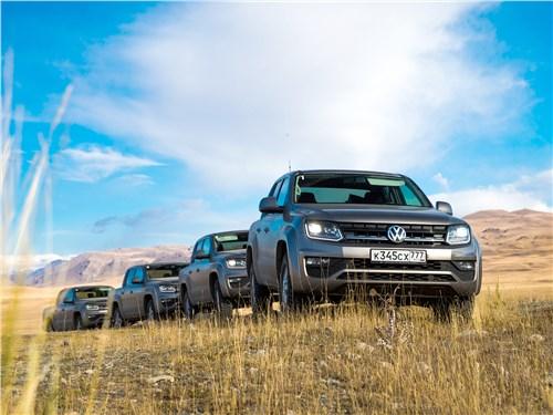 Volkswagen Amarok 2017 в полях Киргизии