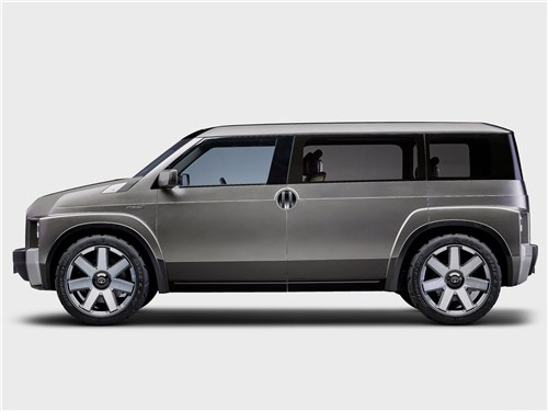 Предпросмотр toyota tj cruiser concept 2017 вид сбоку