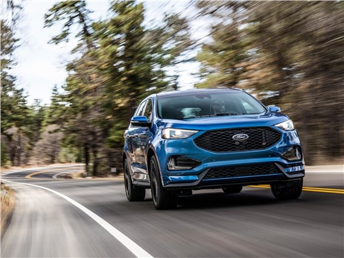 Ford Edge - Ford Edge ST 2019 вид спереди