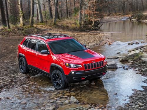 Предпросмотр jeep cherokee 2019 вид спереди