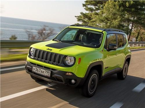 Предпросмотр jeep renegade trailhawk 2015 вид спереди сбоку