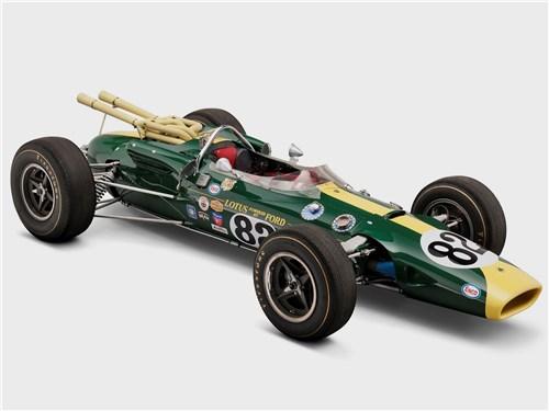 Болид F1 Lotus 38