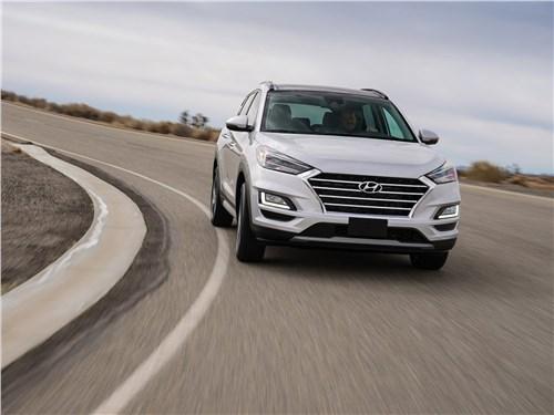 Герои нашего времени Tucson - Hyundai Tucson 2019 вид спереди