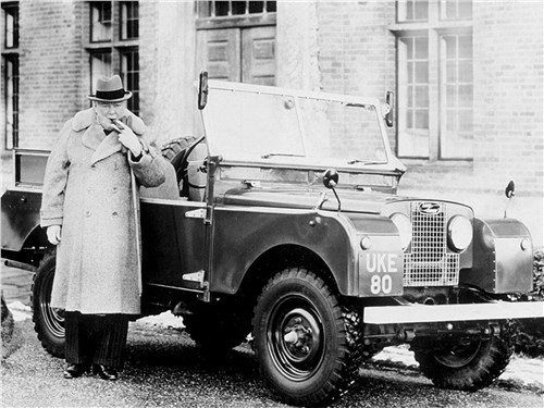 Сэр Уинстон Черчилль знал толк в автомобилях