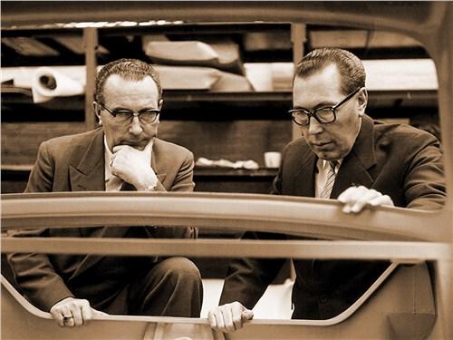 Основатели компании Хуб и Вим ван Доорны (середина 1960-х)