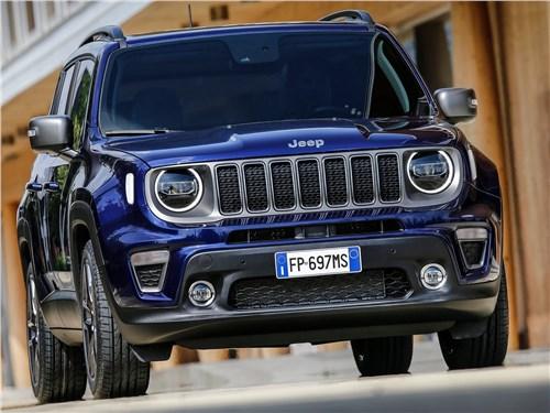 Предпросмотр jeep renegade 2019 вид спереди