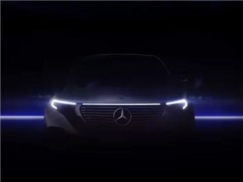 Новость про Mercedes-Benz - Mercedes-Benz EQC