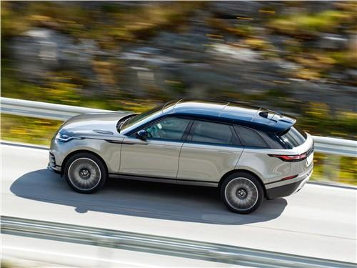 Range Rover Velar совместил в себе черты внедорожника и динамичной легковой модели
