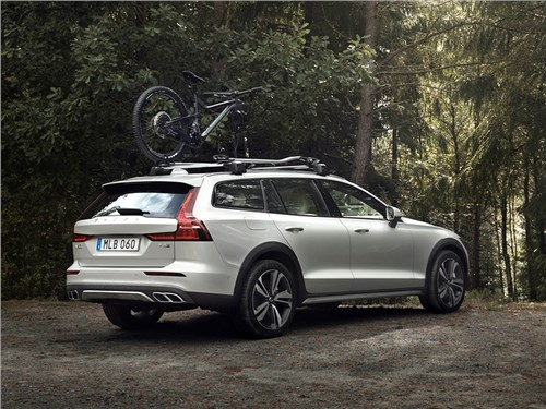 Новость про Volvo V60 Cross Country - Volvo V60 Cross Country 2019