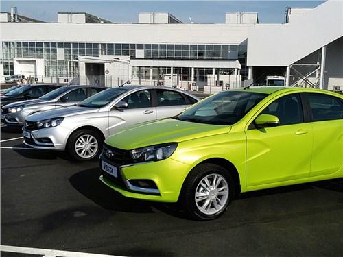 АвтоВаз продолжает увеличивать продажи