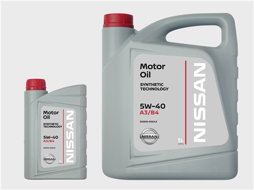 NISSAN МОТОРНОЕ МАСЛО SYNTHETIC TECHNOLOGY* 5W-40 A3/B4
