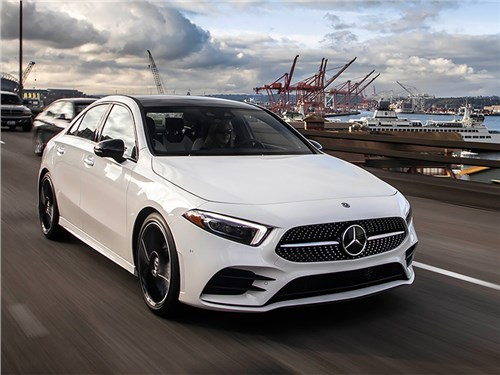 Стали известны цены на седан Mercedes-Benz A-Class