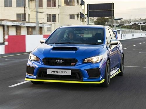 Subaru выпустила самый мощный WRX STI