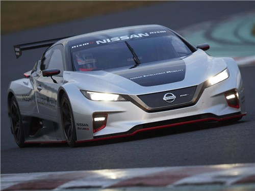 Новость про Nissan Leaf - Nissan Leaf Nismo RC
